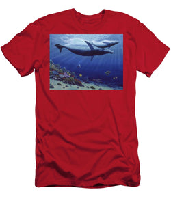Baby Humpback - Men's T-Shirt (Athletic Fit) - visitors