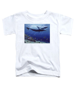 Baby Humpback - Toddler T-Shirt - visitors