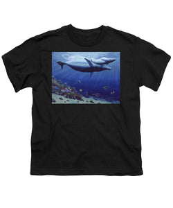 Baby Humpback - Youth T-Shirt - visitors