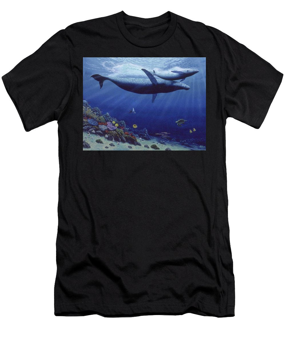 Baby Humpback - Men's T-Shirt (Athletic Fit)