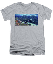 Clown Fish - Men's V-Neck T-Shirt - visitors