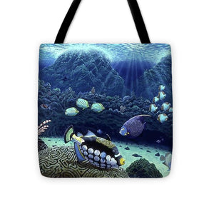 Clown Fish - Tote Bag - visitors