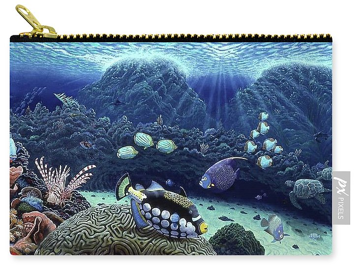 Clown Fish - Carry-All Pouch - visitors