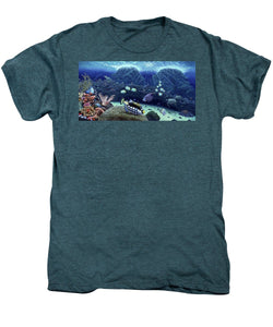 Clown Fish - Men's Premium T-Shirt - visitors
