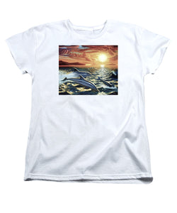 Dolphin Dream - Women's T-Shirt (Standard Fit) - visitors