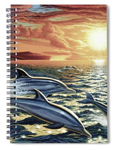 Dolphin Dream - Spiral Notebook - visitors
