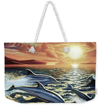 Dolphin Dream - Weekender Tote Bag - visitors