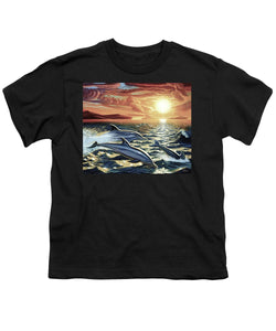 Dolphin Dream - Youth T-Shirt - visitors