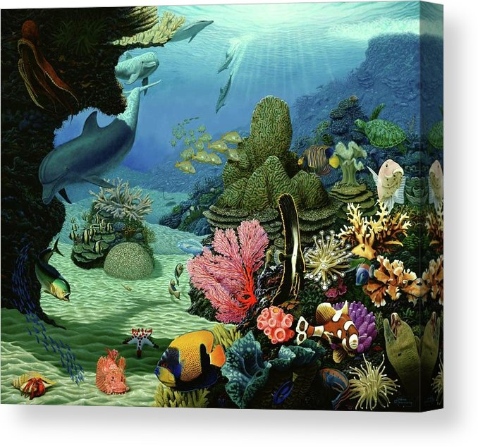 Dream Of Pisces - Canvas Print - visitors