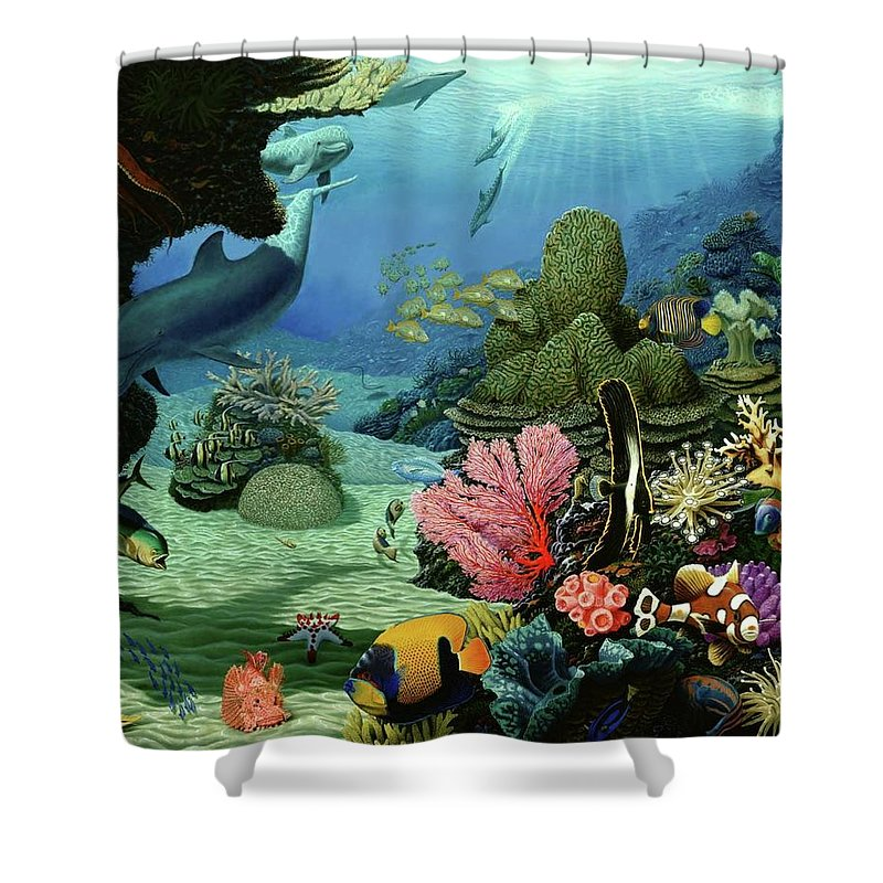 Dream Of Pisces - Shower Curtain - visitors