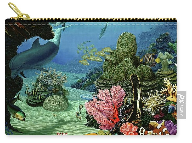 Dream Of Pisces - Carry-All Pouch - visitors