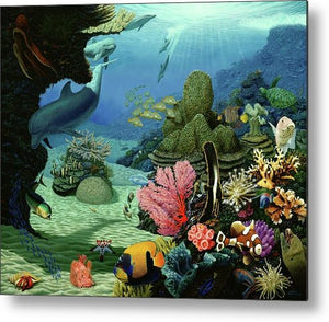 Dream Of Pisces - Metal Print - visitors