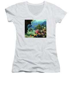 Dream Of Pisces - Women's V-Neck (Athletic Fit) - visitors