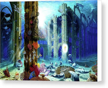 Guardians Of The Grail - Canvas Print - visitors