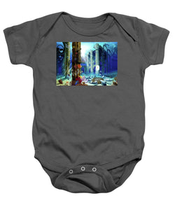 Guardians Of The Grail - Baby Onesie - visitors