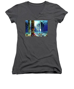 Guardians Of The Grail - Women's V-Neck (Athletic Fit) - visitors