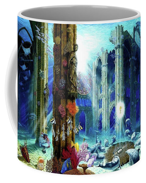 Guardians Of The Grail - Mug - visitors
