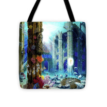 Guardians Of The Grail - Tote Bag - visitors