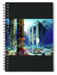 Guardians Of The Grail - Spiral Notebook - visitors