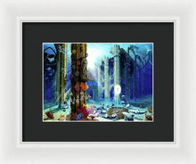 Guardians Of The Grail - Framed Print - visitors