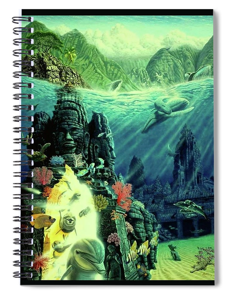 Jewel Of Amrita - Spiral Notebook - visitors