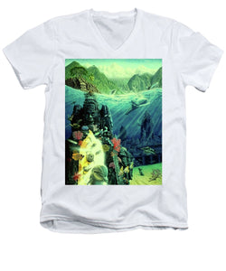 Jewel Of Amrita - Men's V-Neck T-Shirt - visitors