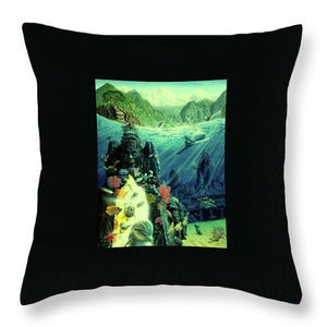 Jewel Of Amrita - Throw Pillow - visitors