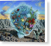 Life Force - Canvas Print - visitors