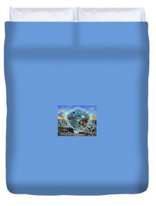 Life Force - Duvet Cover - visitors