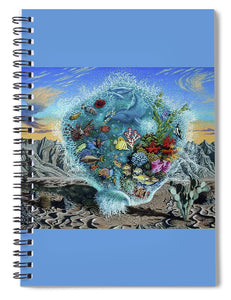 Life Force - Spiral Notebook - visitors