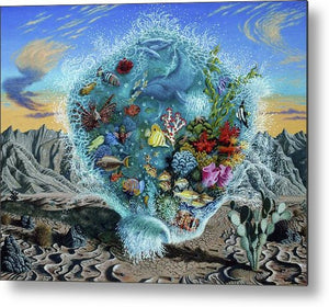 Life Force - Metal Print - visitors