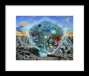 Life Force - Framed Print - visitors