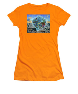 Life Force - Women's T-Shirt (Athletic Fit) - visitors