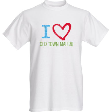 Youth T-Shirt - I Love Old Town Malibu