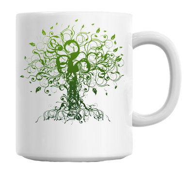 Tree Lover Mug - Green - visitors