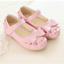 Malibu Kids, Flower and Bowtie Soft Sandal - visitors