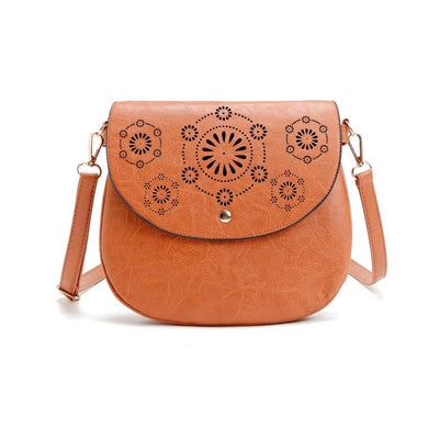Malibu Casual, Faux Leather Shoulder Bag - visitors