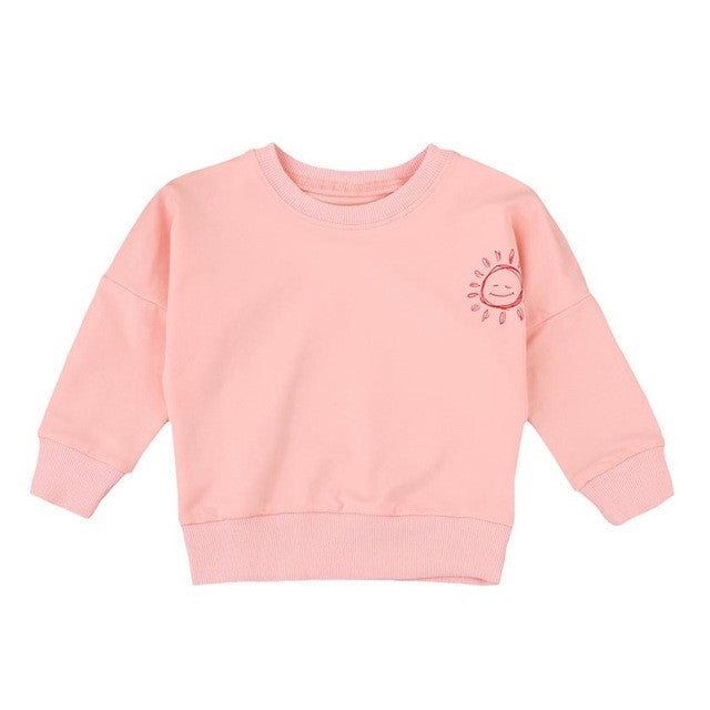 Malibu Baby, Infant and Toddler Long Sleeve Sweatshirt - visitors