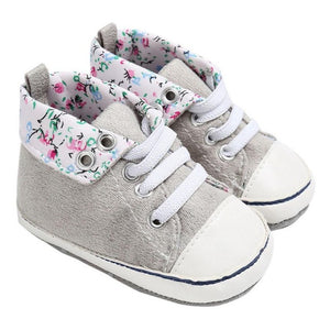 Flower Child, Charming Children's Sneakers - visitors
