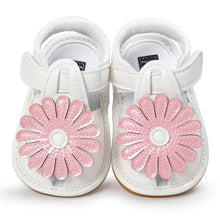 Classic Kids, Sun Flower Soft Soled Sandals - visitors