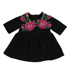 Classic Kids, Rose Flower Toddler Dress - visitors