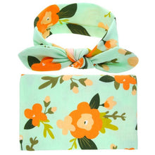Malibu Baby, Baby Swaddle Blanket & Headwrap - visitors