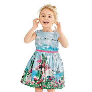 Classic Kids, Sleeveless Nature Dress - visitors