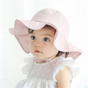 Malibu Baby, Charming Cotton Sun Hat - visitors