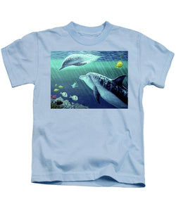 Sea Wise - Kids T-Shirt - visitors