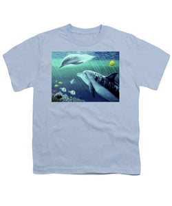Sea Wise - Youth T-Shirt - visitors