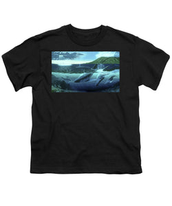 The Great Whales - Youth T-Shirt - visitors