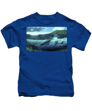 The Great Whales - Kids T-Shirt - visitors