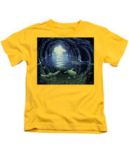 Turtle Cave - Kids T-Shirt - visitors
