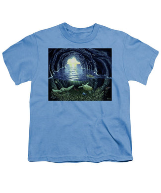 Turtle Cave - Youth T-Shirt - visitors